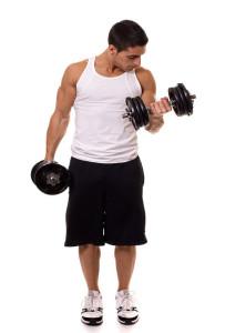 biceps striedavý zdvich