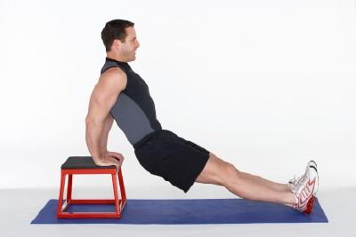 triceps odcvičiš doma