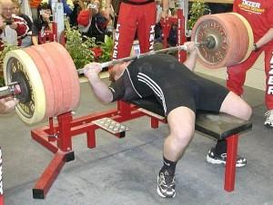 tlak na lavičke tréning
