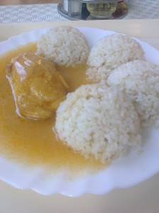 kuracie prsa s ryžu