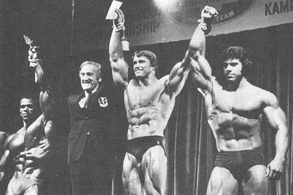 Mr. Olympia 1975 Arnold _ Ferigno