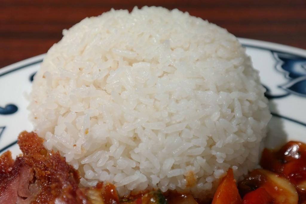 ryža po tréningu svalovy rast