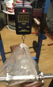hriadel-jednorucky-hmotnost