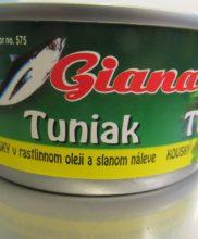 Giana tuniak konzerva