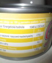 nutričné hodnoty tuniak v slanom náleve