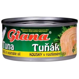 tuniak niacín