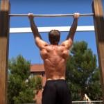 4 týždňový tréning hrazdy – rozpis na doma