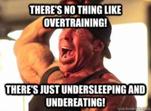 GVT objemový trening jedálniček