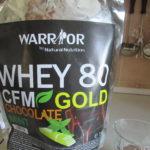 Recenzia proteínu Whey WPC80 CFM Gold od Namaximum.sk
